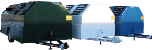 3 Pro-Gravity Recycling Trailers