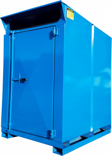 Pro-Mini 4.5yd Blue Cardboard Cycler