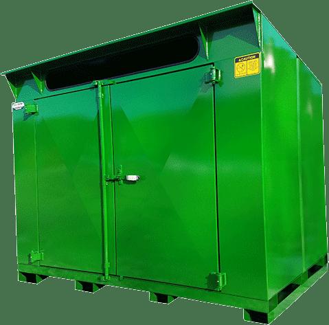 Pro-Mini 9yd Green Cardboard Cycler
