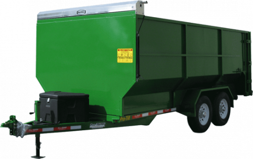 Green Compost Trailer