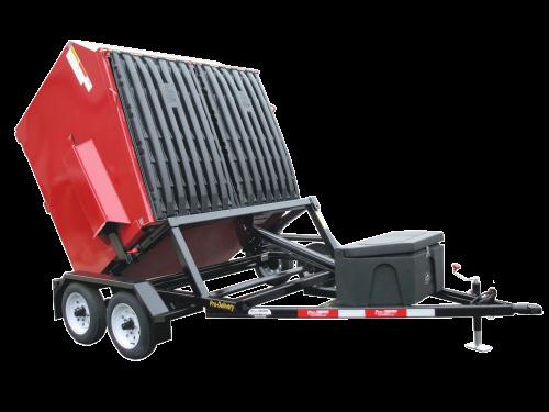Front Load Dumpster Delivery Trailer