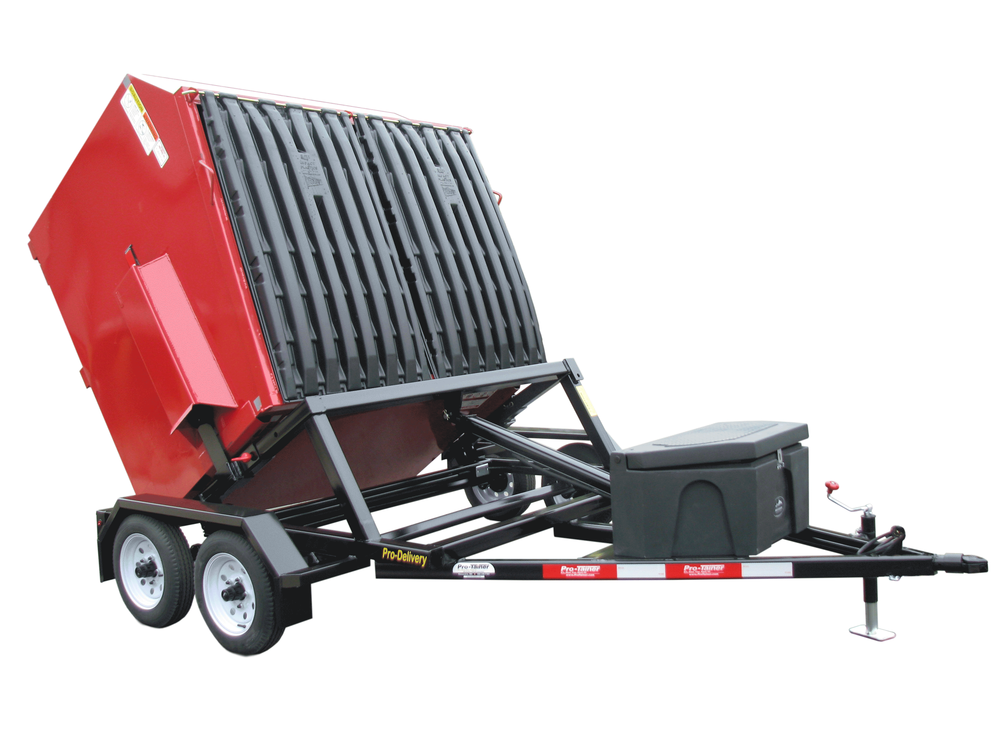 Front Load Delivery Trailer