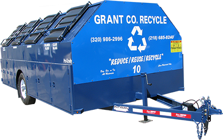 Grant County Pro-Gravity Recycling Trailer