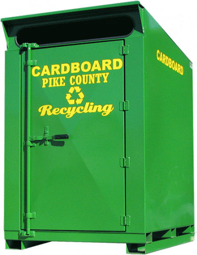 Green Cardboard Pro-Mini Cycler