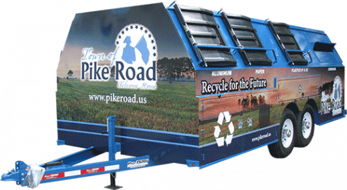 Pike Road Pro-Gravity Recycling Trailer
