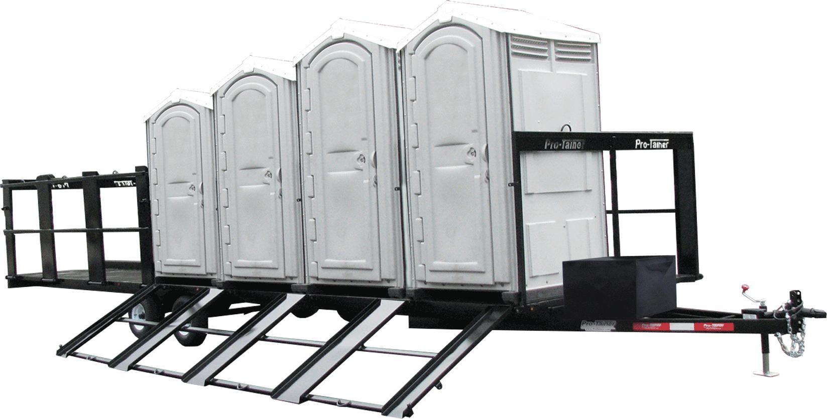 Porta Potty Trailer
