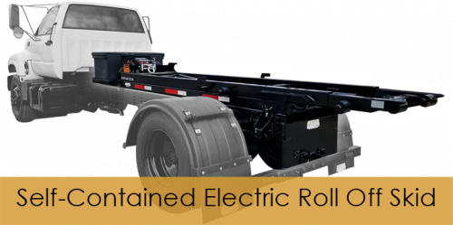 Self-Contained Electric Roll Off Skid