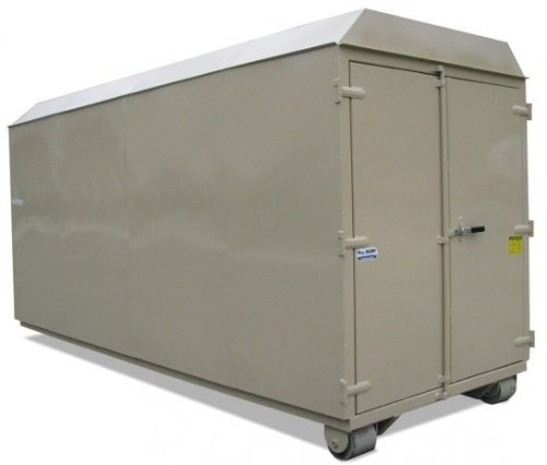 Roll Off Trailer Storage Shed
