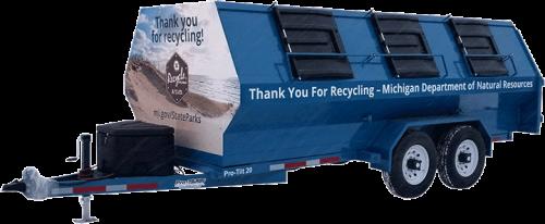 Pro-Tilt Recycling Trailer MI