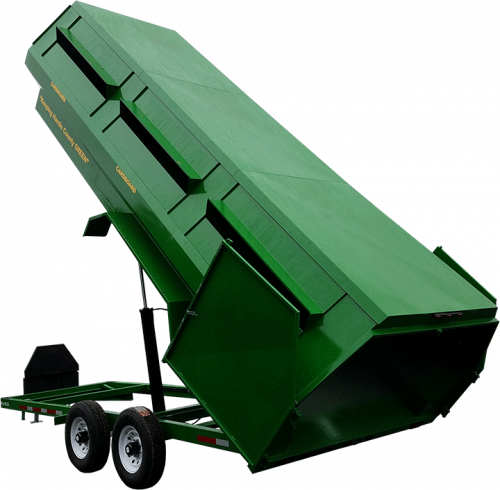 Pro-Tilt 25 Recycling Trailer - Green