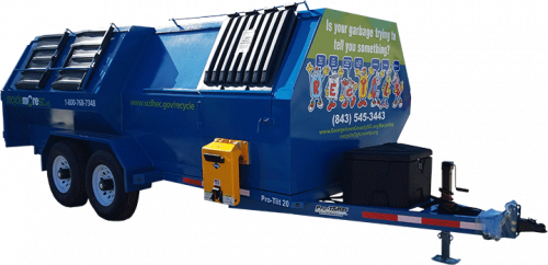 Pro-Tilt Recycling Trailer