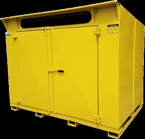Yellow Cardboard Mini Cycler