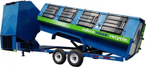 Blue Pro-Tilt/Side Dump Trailer