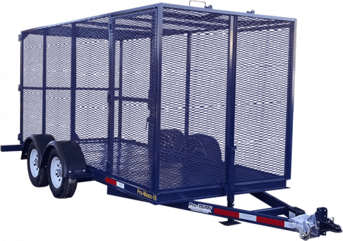 Mesh Recycling Trailer