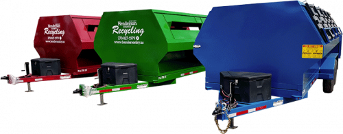 Pro-Tilt Recycling Trailer Color