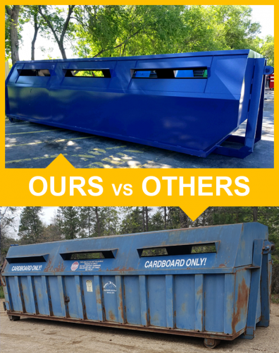 Roll Off Recycle Drop Box Comparison