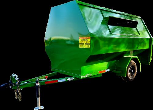 Pro-Tilt Recycling Trailer No Tilt